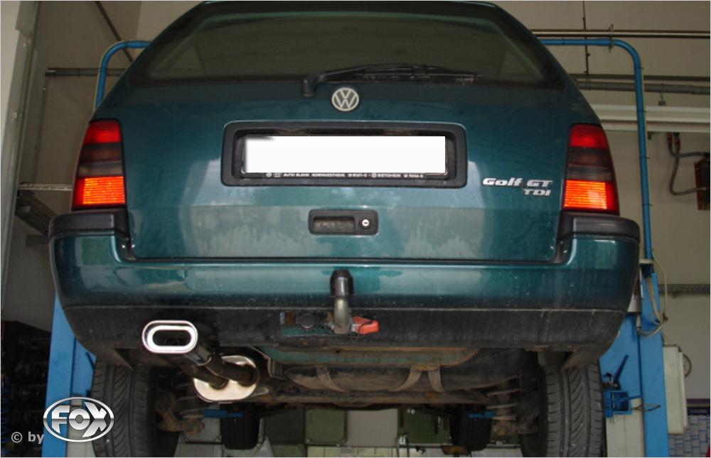 Fox Endschalldämpfer VW052062-593 für VW Golf