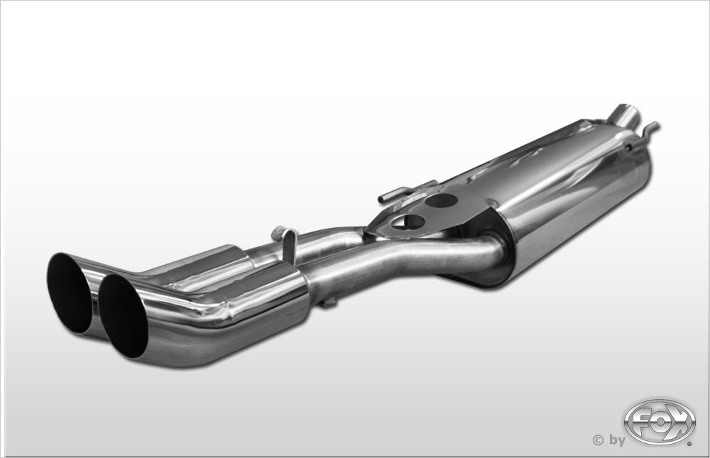 Fox Endschalldämpfer VW080002-166 für VW Vento