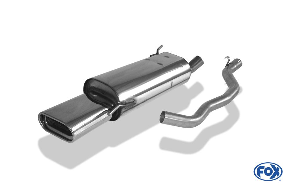 Fox Endschalldämpfer VW130022-597 für VW T4