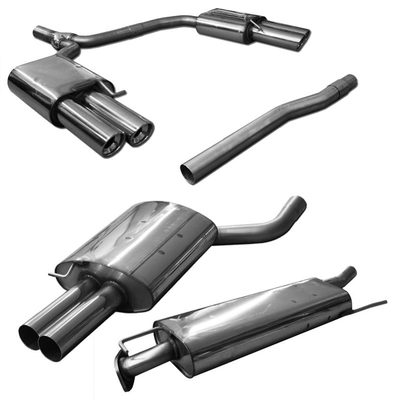 Fox Uni-Schalldämpfer UNI-H7254206355 für Universalschalldämpfer 725mm (Umfang)