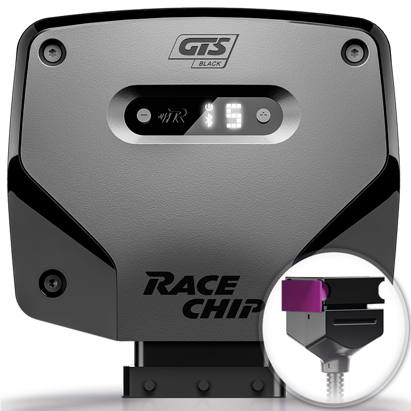 Chiptuning RaceChip GTS Black für Audi A1 (8X) S1 2.0 TFSI 231PS Tuningbox