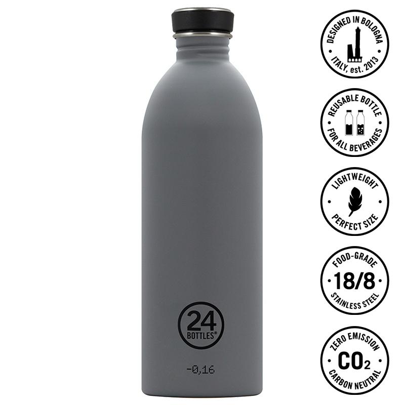 STANLEY Feldflasche Adventure Steel Canteen 1L Isolierflasche Trinkflasche Stahl