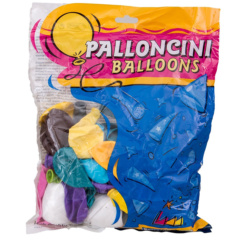 Luftballons Ballon 75 Stück Eiknäuel Helium Ballongas Luftballon Folienballons