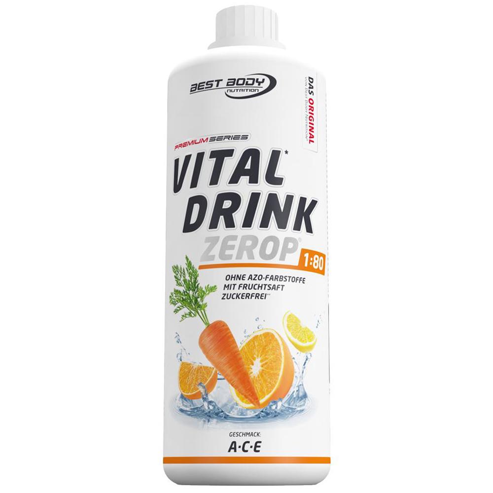 ACE Fruchtsaft Vitamine Mineraldrink Nutrition Getränkekonzentrat kalorienarm Sirup 1L