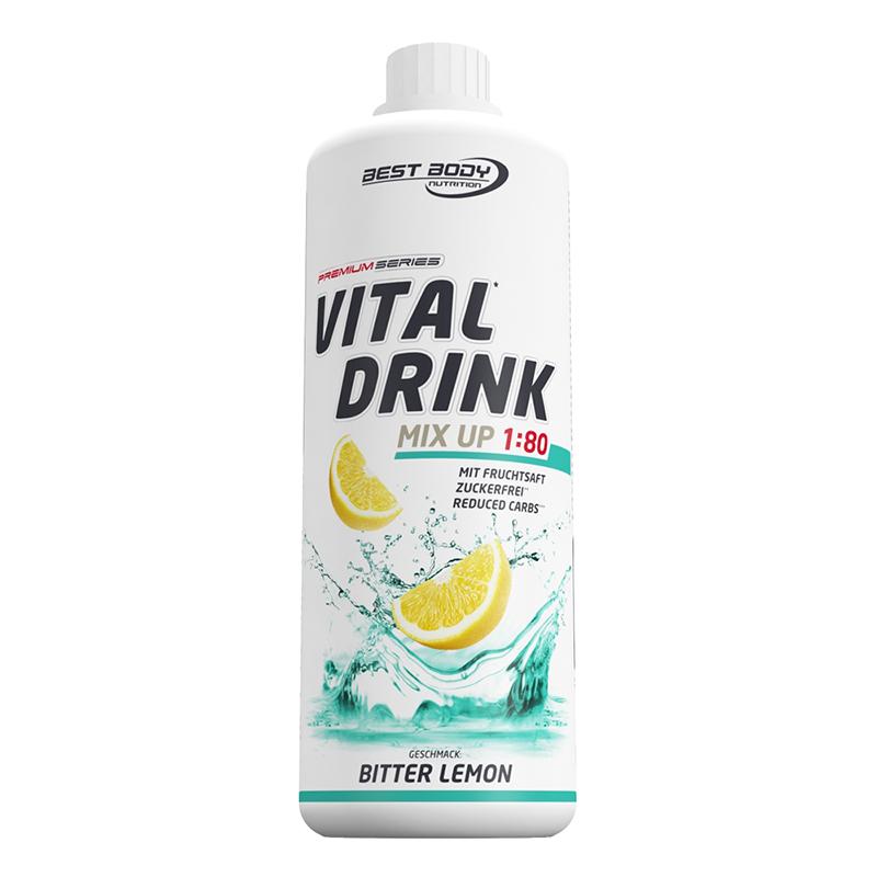 Bitter Lemon Mineraldrink Nutrition Getränkekonzentrat kalorienarm Vital Drink