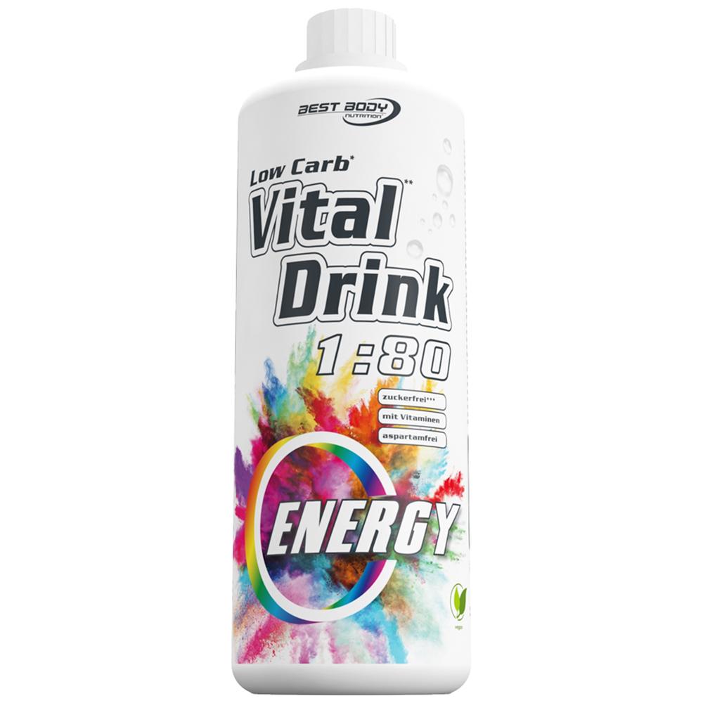 Energy Energie Mineraldrink Nutrition Getränkekonzentrat kalorienarm Vital Drink