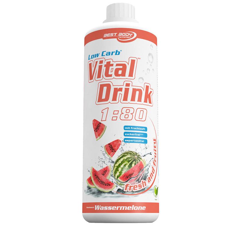 Wassermelone Mineraldrink Nutrition Getränkekonzentrat  Vital Drink 1L