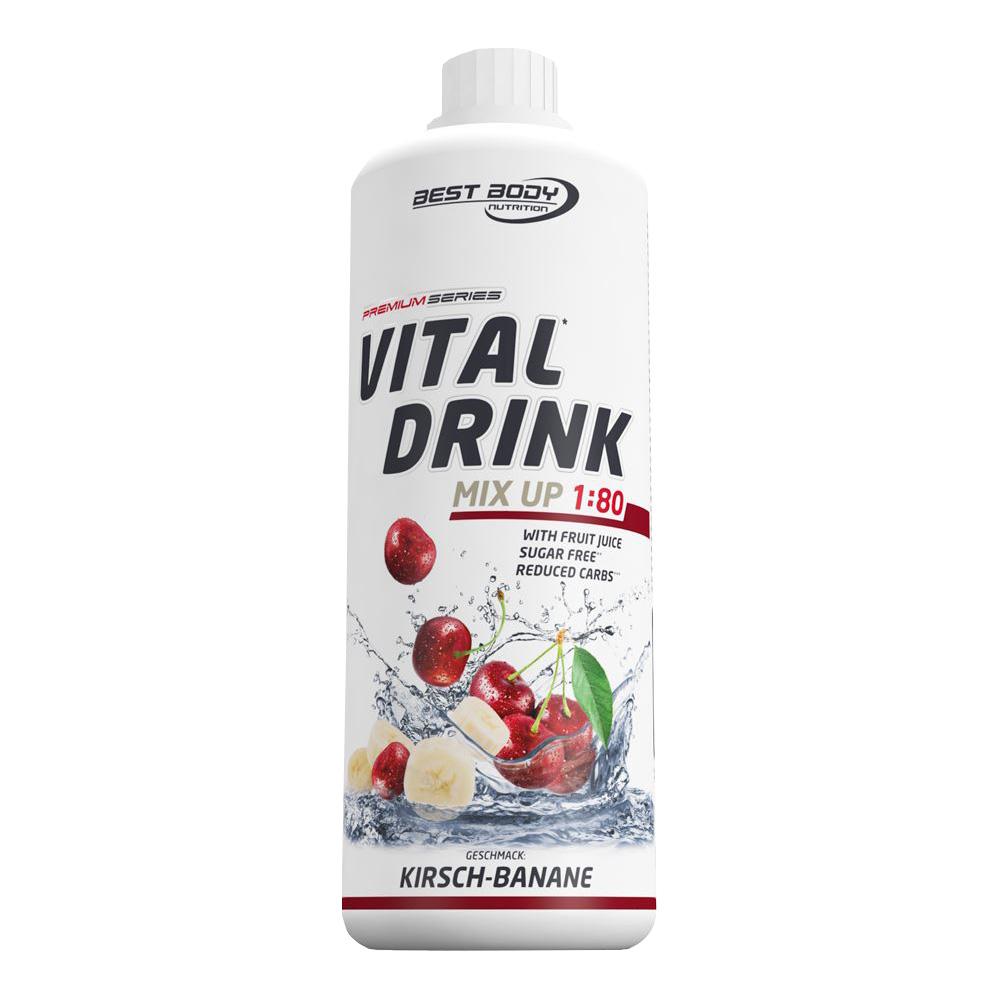 Banane Kirsche Mineraldrink Nutrition Getränkekonzentrat kalorienarm Vital Drink