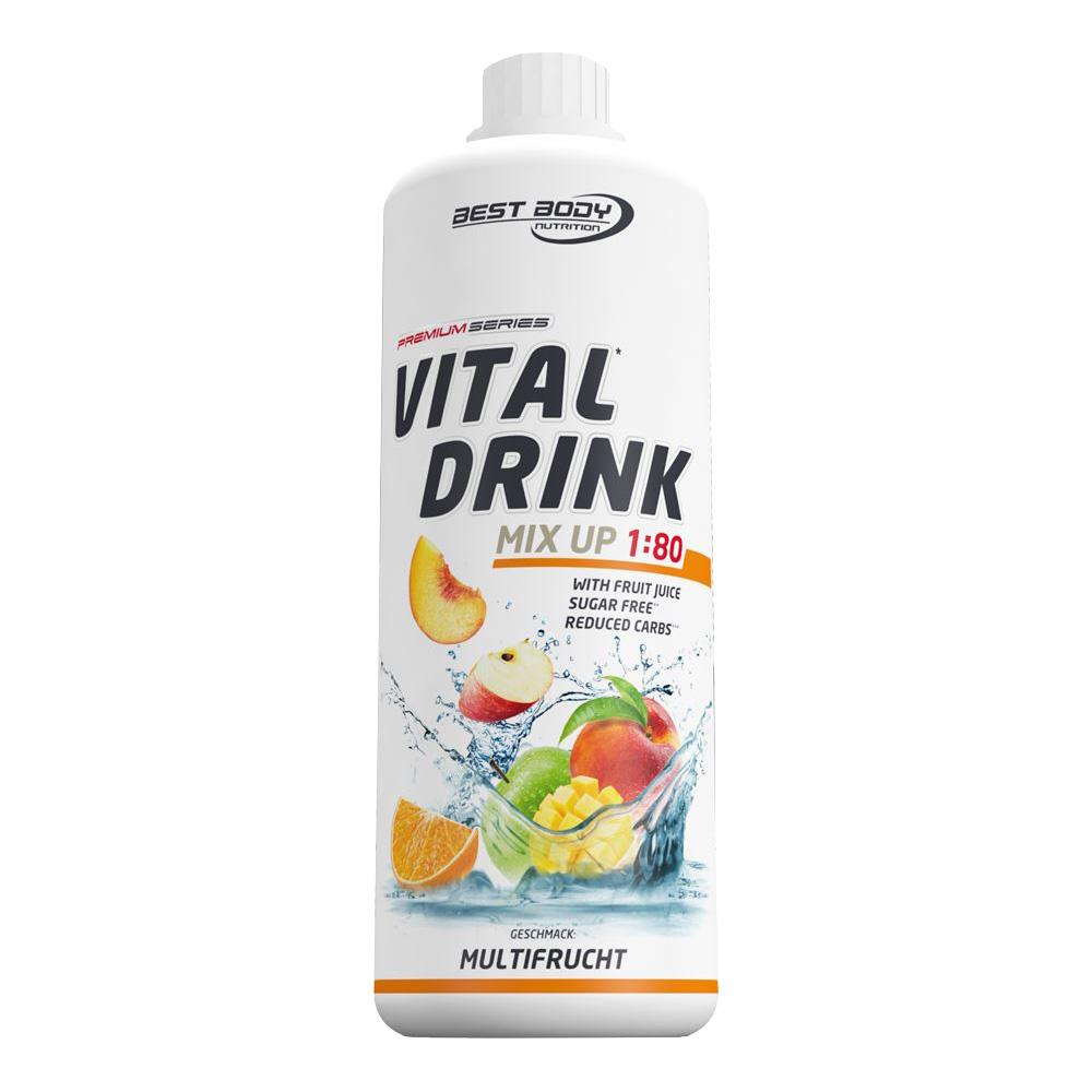 Multifrucht Mineraldrink Nutrition Getränkekonzentrat kalorienarm Vital Drink 1L
