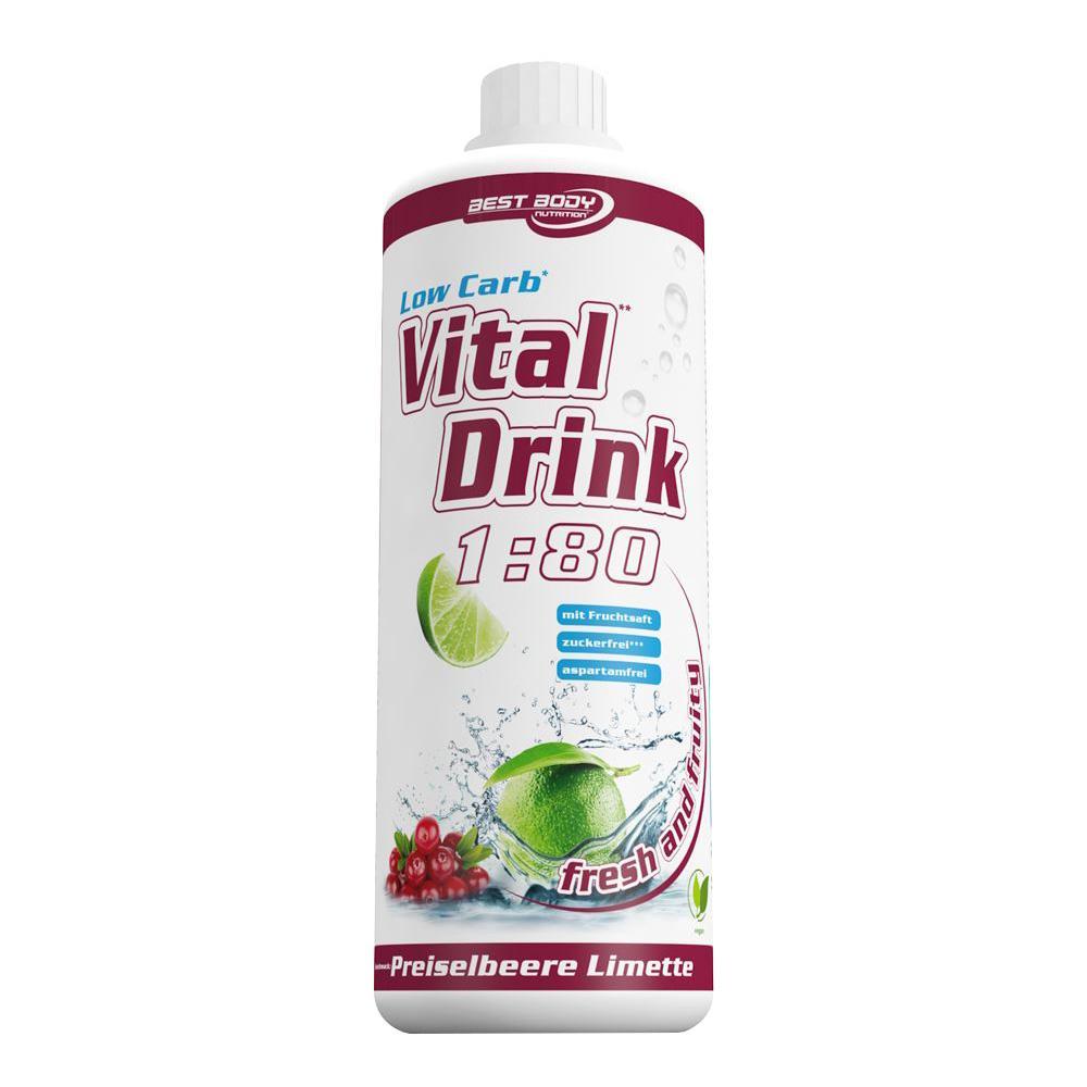 Preiselbeere Mineraldrink Nutrition Getränkekonzentrat kalorienarmer Vital Drink