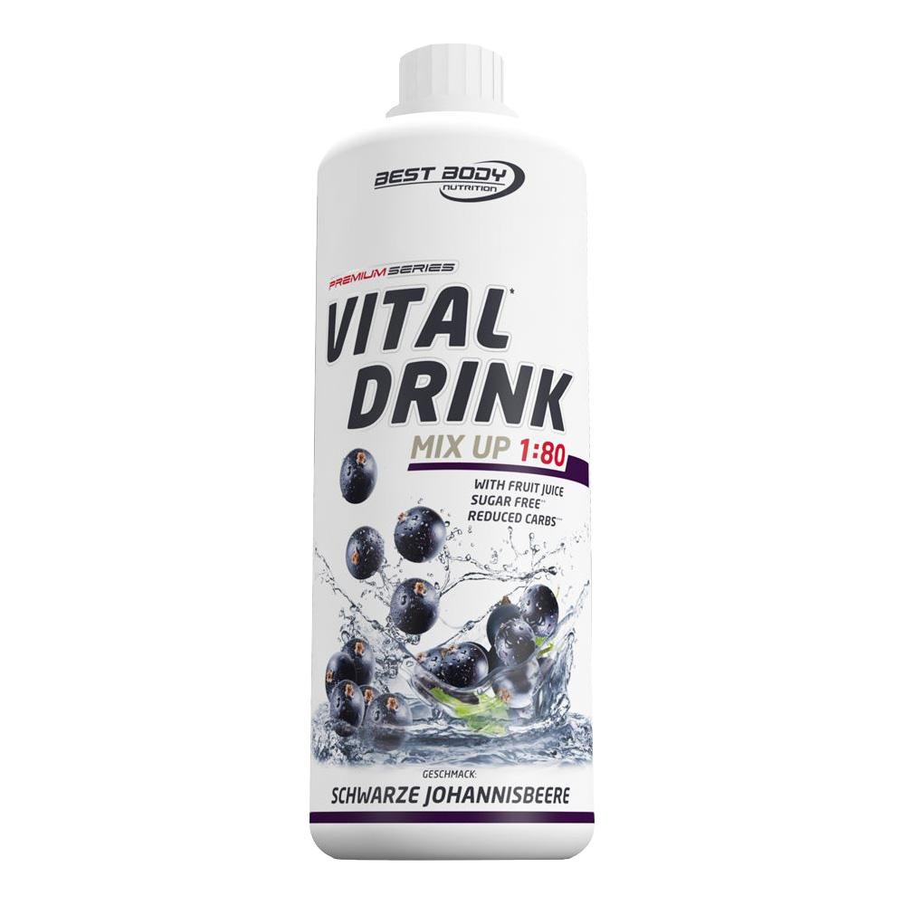 Johannisbeere Mineraldrink Nutrition Getränkekonzentrat kalorienarm Vital Drink