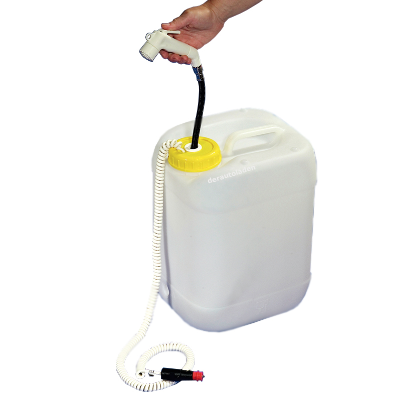 Mobildusche Reisedusche 12V Tauchpumpe Wasserkanister Dusche Camping Outdoor