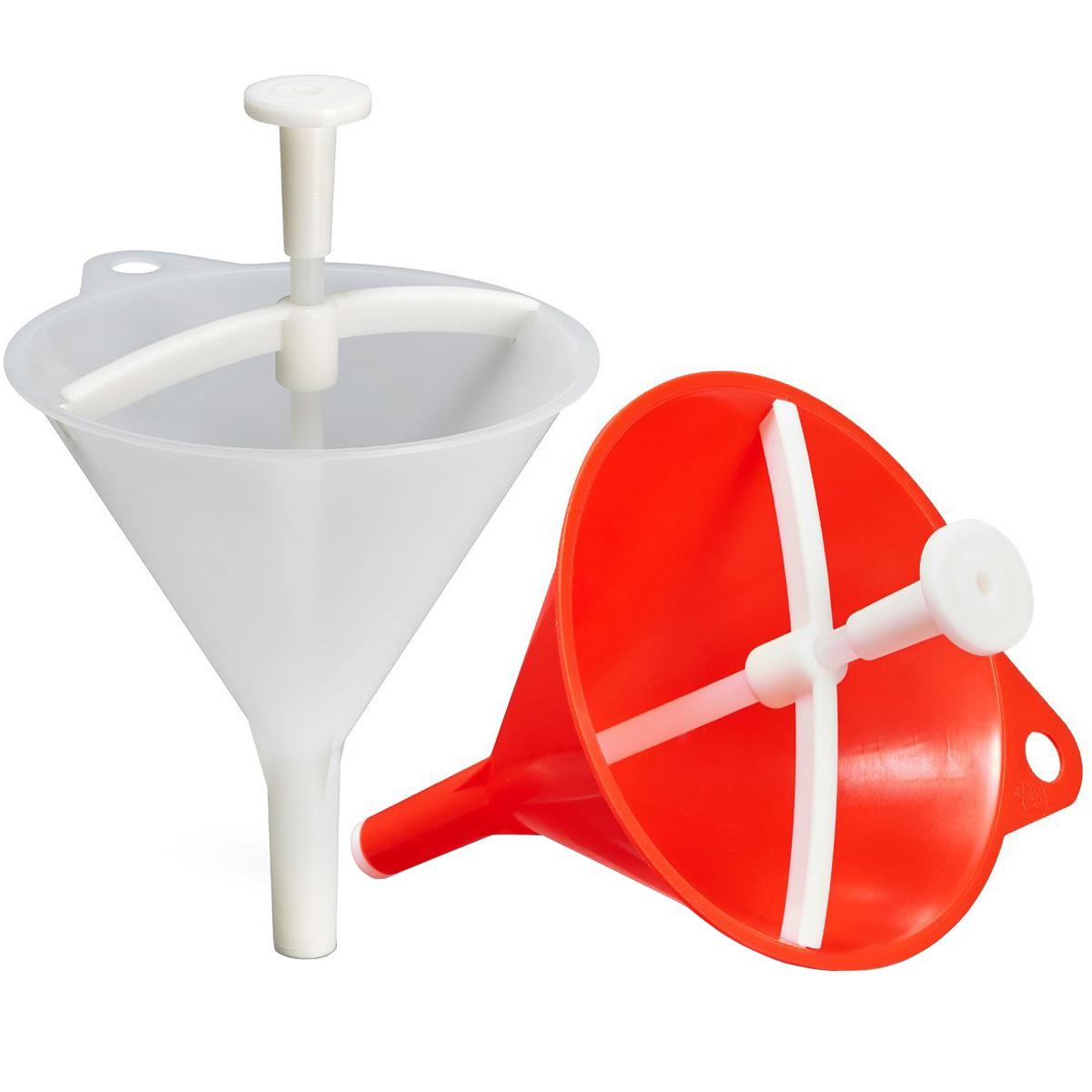 Drychter Trichter Einfüllhilfe Einfülltrichter Haushalt Benzin Öl - Das Original