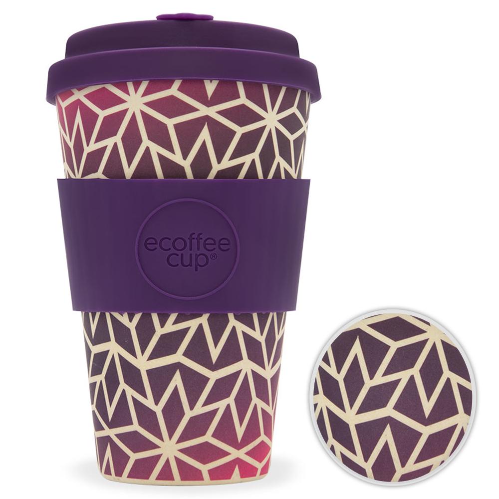 Kaffeebecher Bambusbecher Mehrwegbecher 400ml Kaffee Tee Becher Stargrape