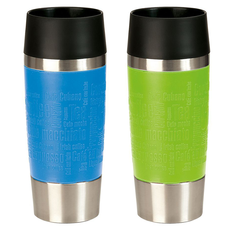 Emsa Isolierbecher Thermobecher Travel Mug Trinkbecher Kaffeebecher Auto 360 ml
