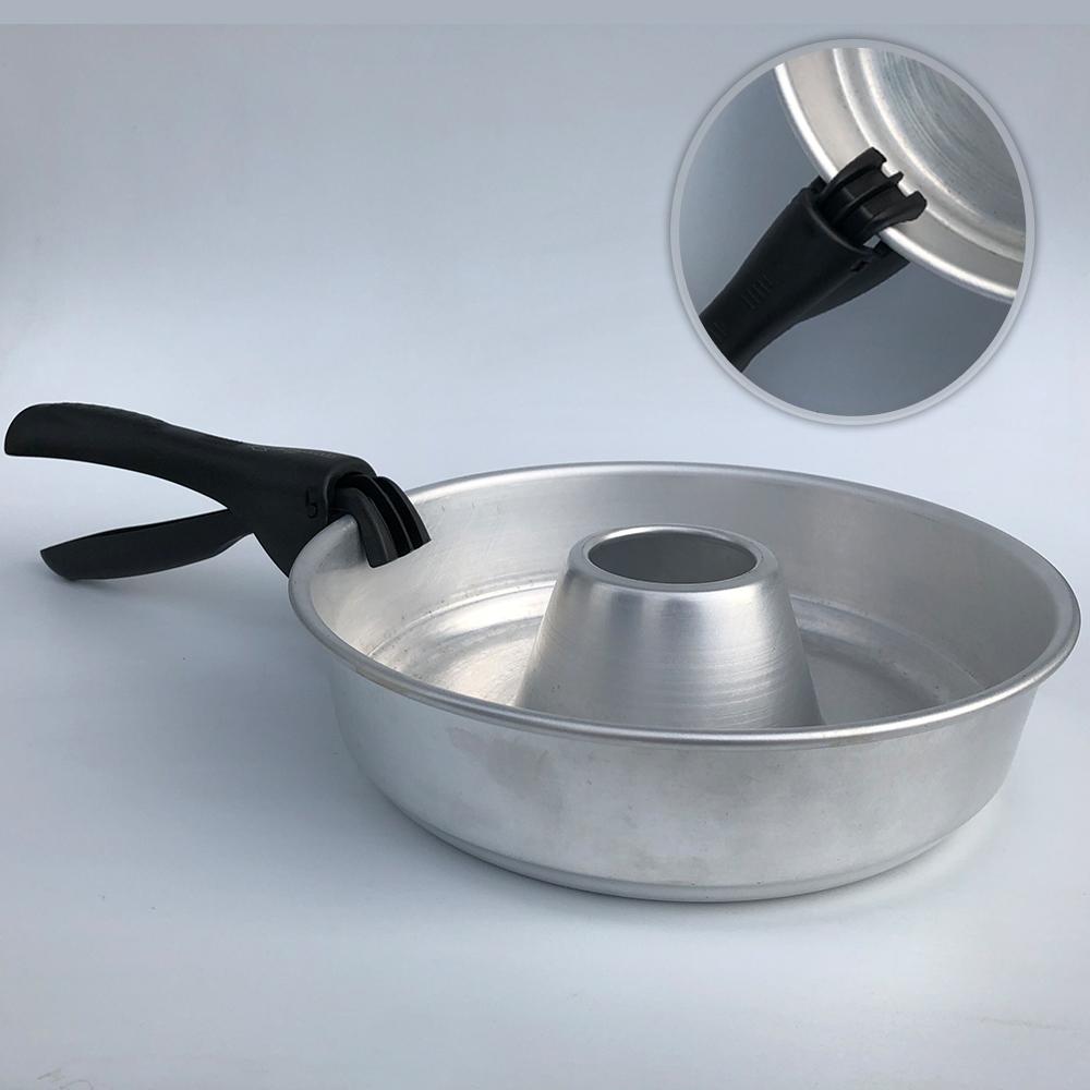 Griff Haltegriff Haltezange Zange für Omnia Backofen Ofen Camping Backen Kochen