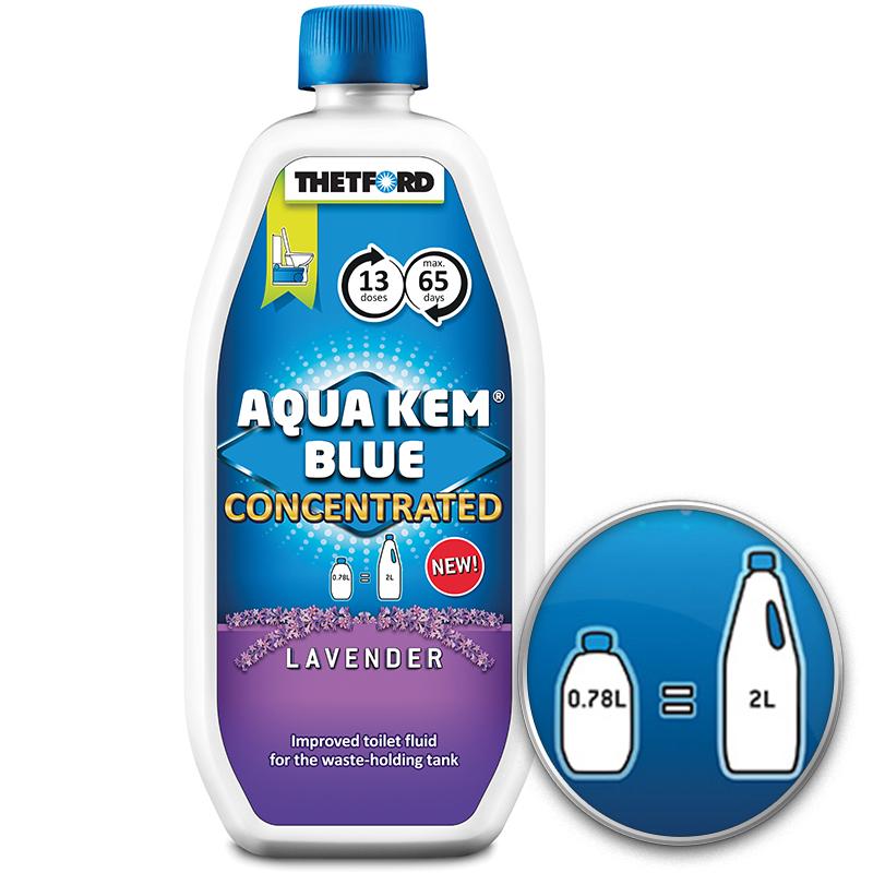 Thetford Aqua Kem Lavendel Konzentrat Sanitärflüssigkeit Camping Zusatz Toilette