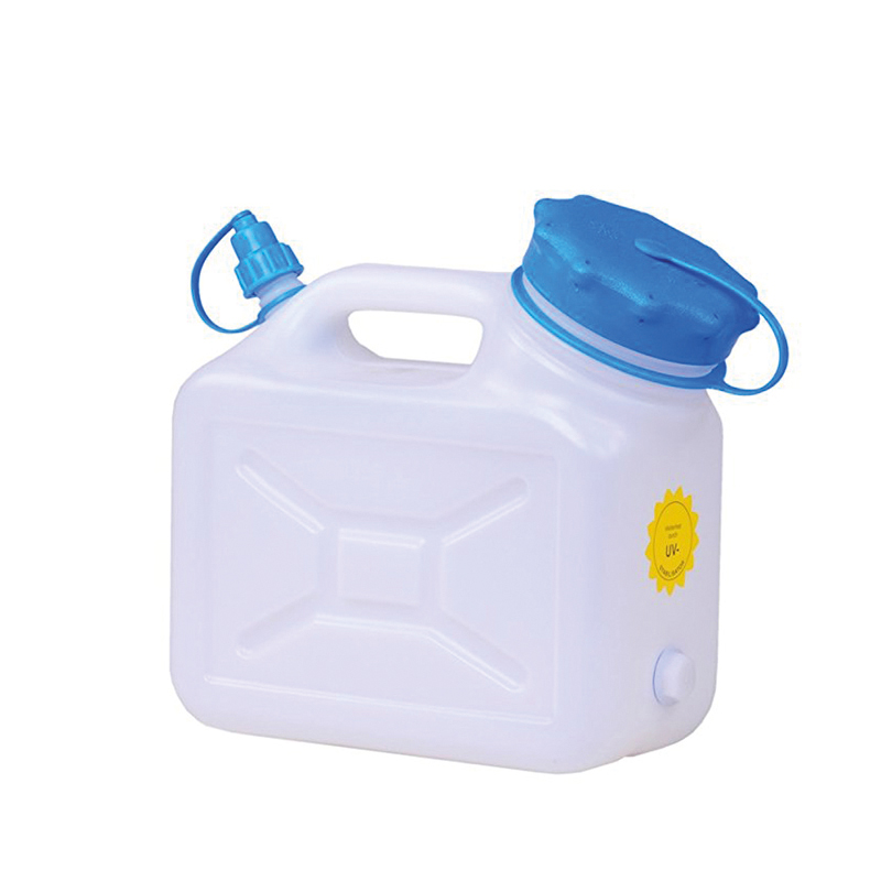 Wasserkanister Weithals Wasser Kanister Hünersdorff HD-PE Wassertank Camping 5L