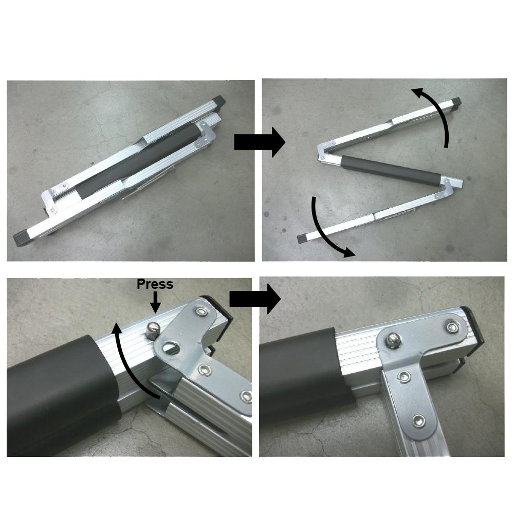 Kühlboxenständer Aluminium Kühlbox Ständer Gestell Höhenverstellbar bis 40kg