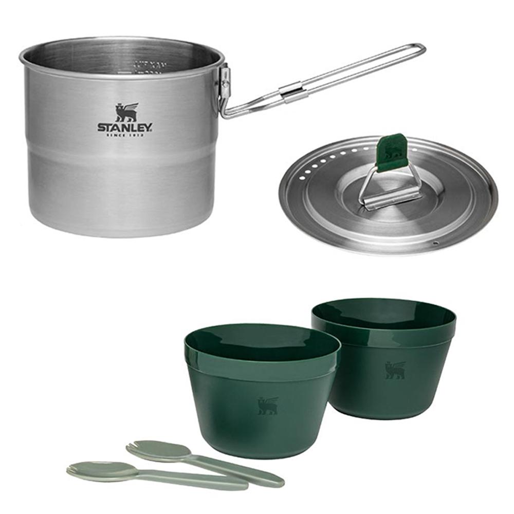 Stanley Adventure Cook Set für Zwei Kochset Campingset Kochen Kocher Kochtopf