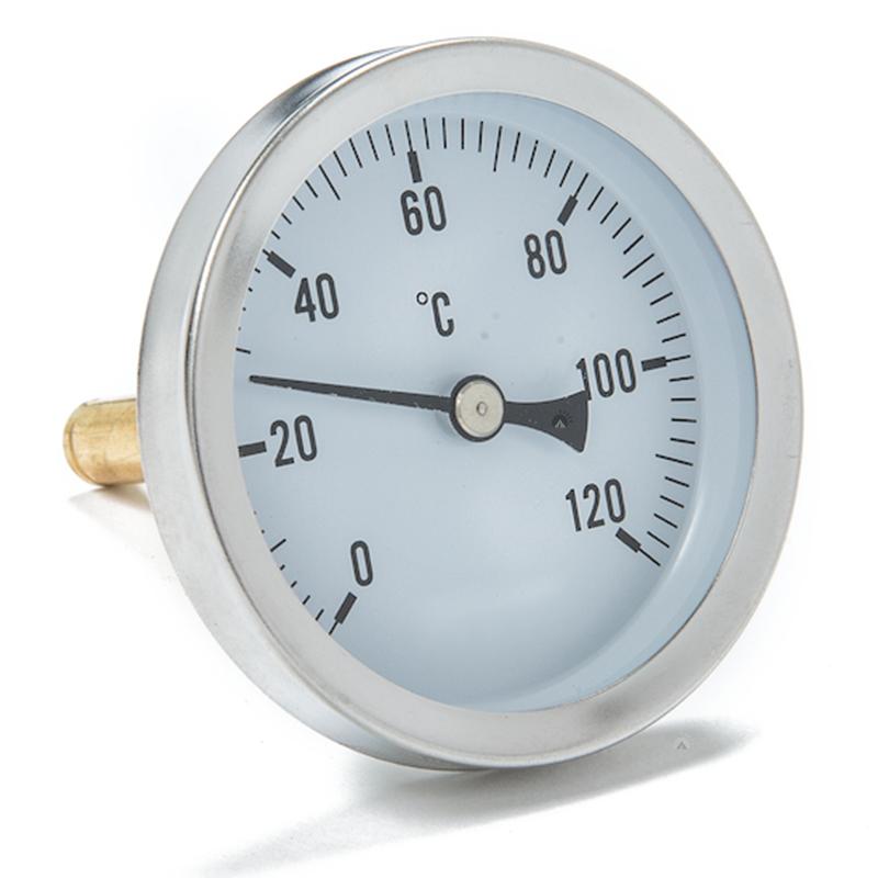 Edelstahl Räucherthermometer Thermometer für isolierte Räucherofen Räucher Tonne