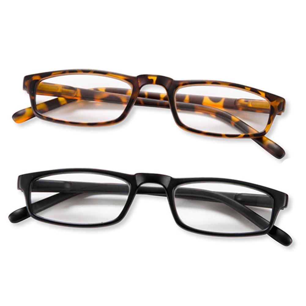 Lesebrille Lesehilfe Halblesebrille Brille Federbügel Unisex +1.50 +2.00 +2.50