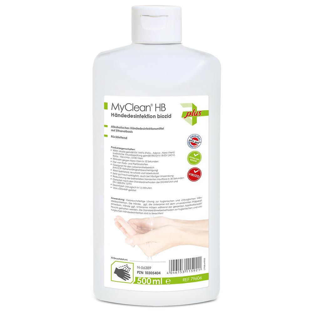 Desinfektionsmittel Hände Desinfektion Händedesinfektion Biozid 500ml