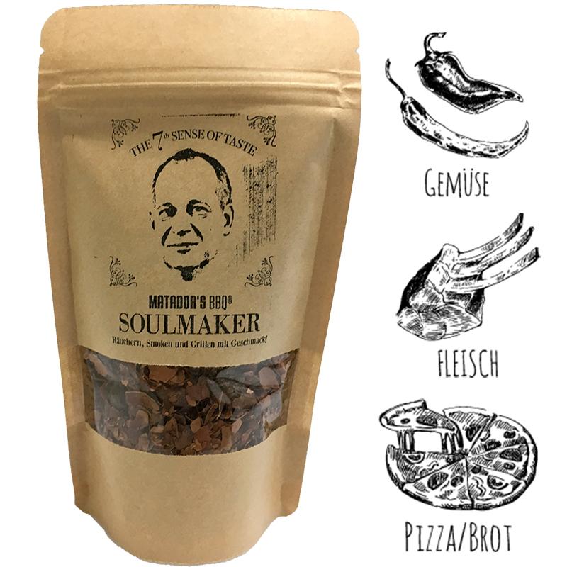 Matador BBQ Kakaoschalen Kakao Soulmaker Räuchern Smoker 250ml