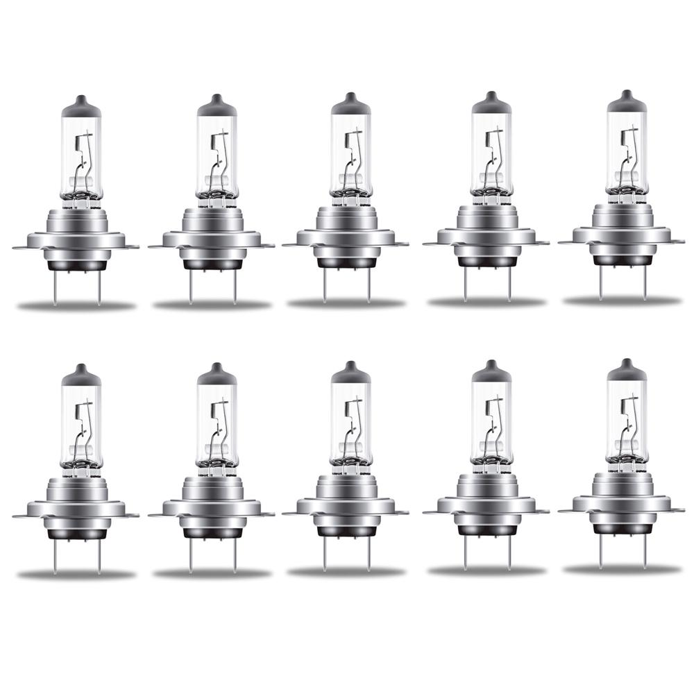 Osram H7 Classic 64210 CLC Lampe 12V 55W 64210CLC Autolampe Glühlampe Birne 10 Stk