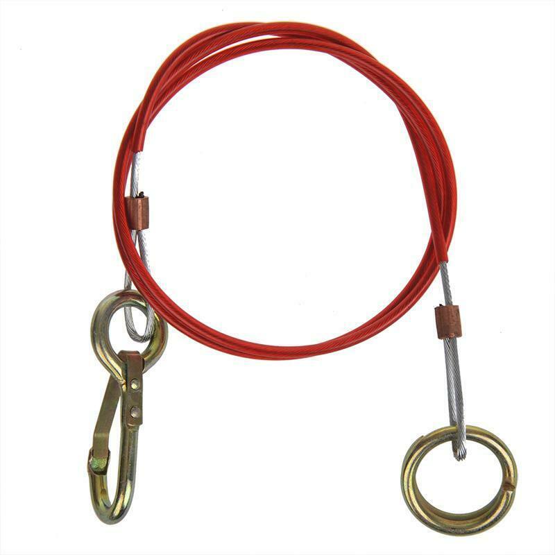 Abreisseil Anhänger Sicherungsseil Bremsseil Fangseil Anhängerseil Seil Ring 1m