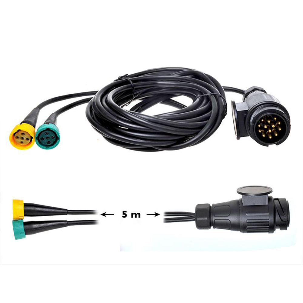 Kabelsatz 5m Stecker 13-polig Anhängerkabel Anhänger Stromkabel Rückleuchten PKW