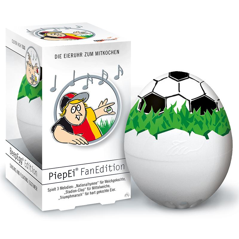 PiepEi Eieruhr Eierkocher Frühstückei Ei Melodie Piep Ei Timer Fußball Fan WM