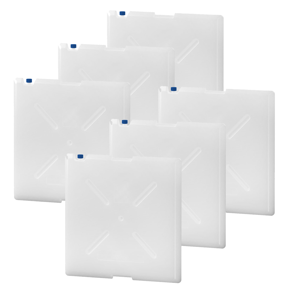 QOOL Box Standard Frozen Temperature Elements für Box L -20° C bis -10° C 6 Stk.