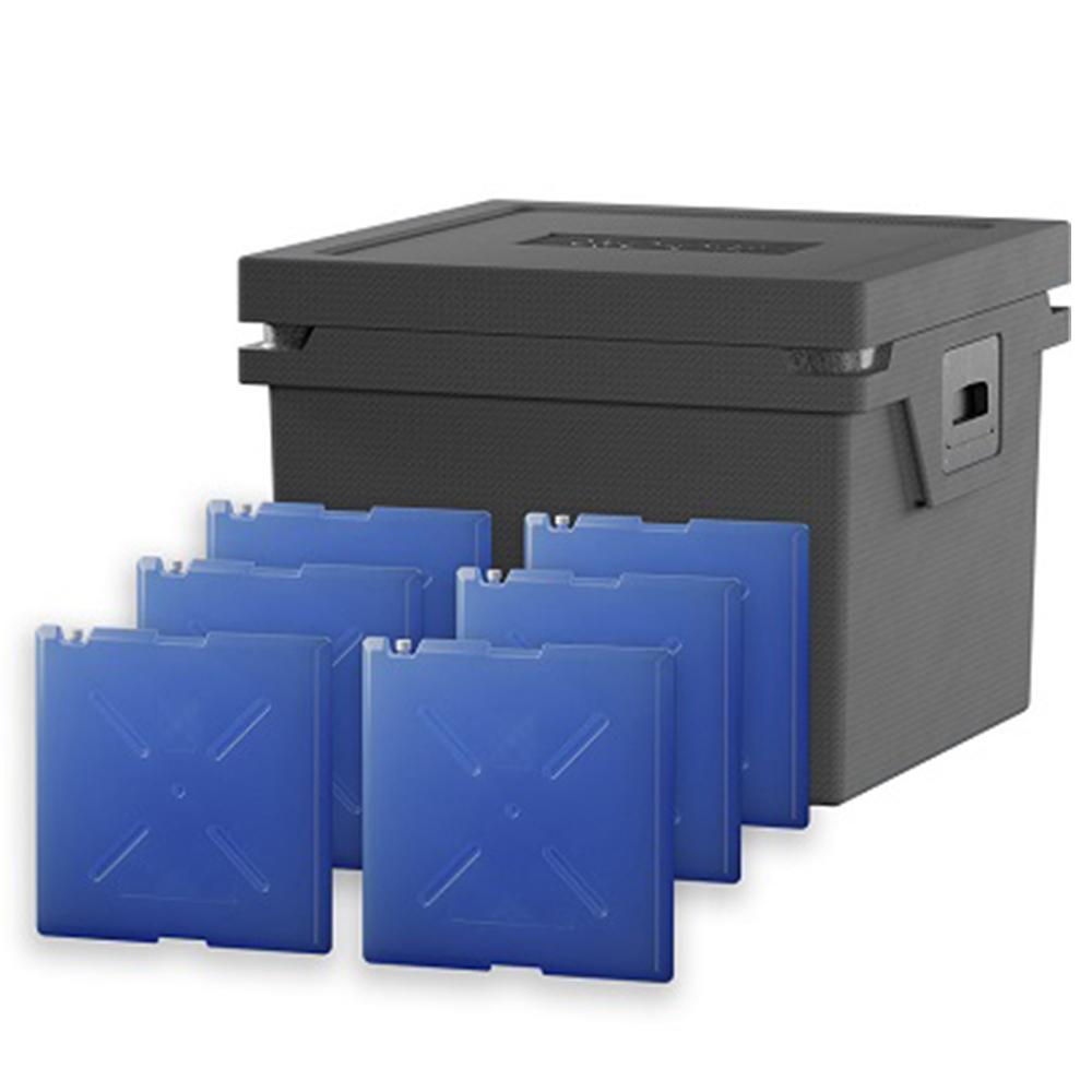 QOOL Box Controlled Fresh Box Eco+ L Passiv Kühlbox Kühltruhe Kühlen +2° bis +8° Grad