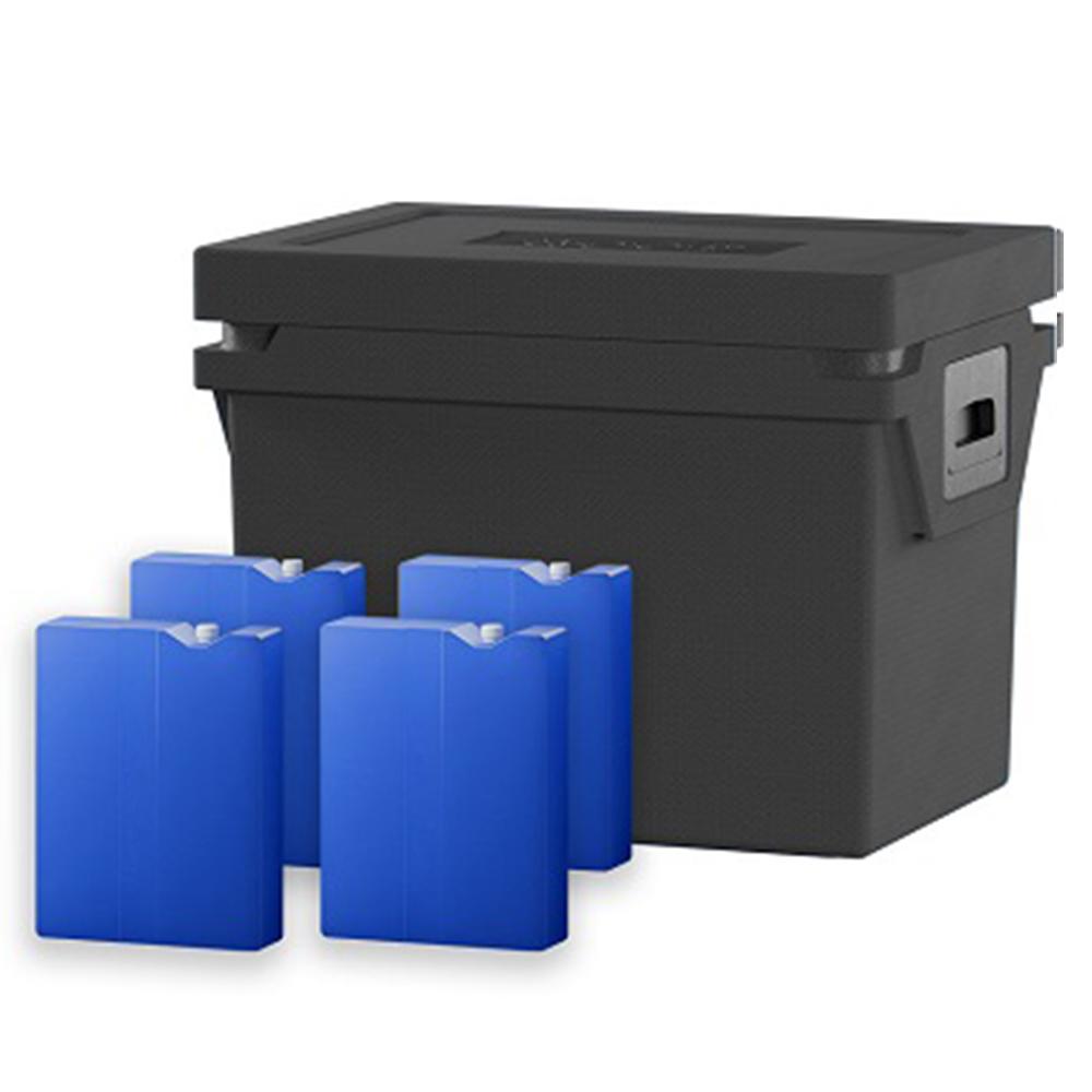 QOOL Box Controlled Fresh Box Eco+ M Passiv Kühlbox Kühltruhe Kühlen +2° bis +8° Grad