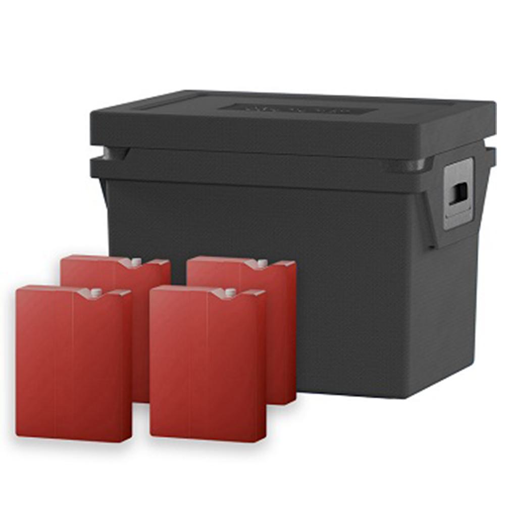 QOOL Box Standard Cool Box Eco+ M Passiv Kühlbox Kühltruhe Kühlen -2° bis 0° Grad