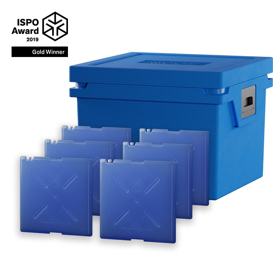 QOOL Box Controlled Fresh Box L Passiv Kühlbox Kühltruhe Kühlen +2° bis +8° Grad