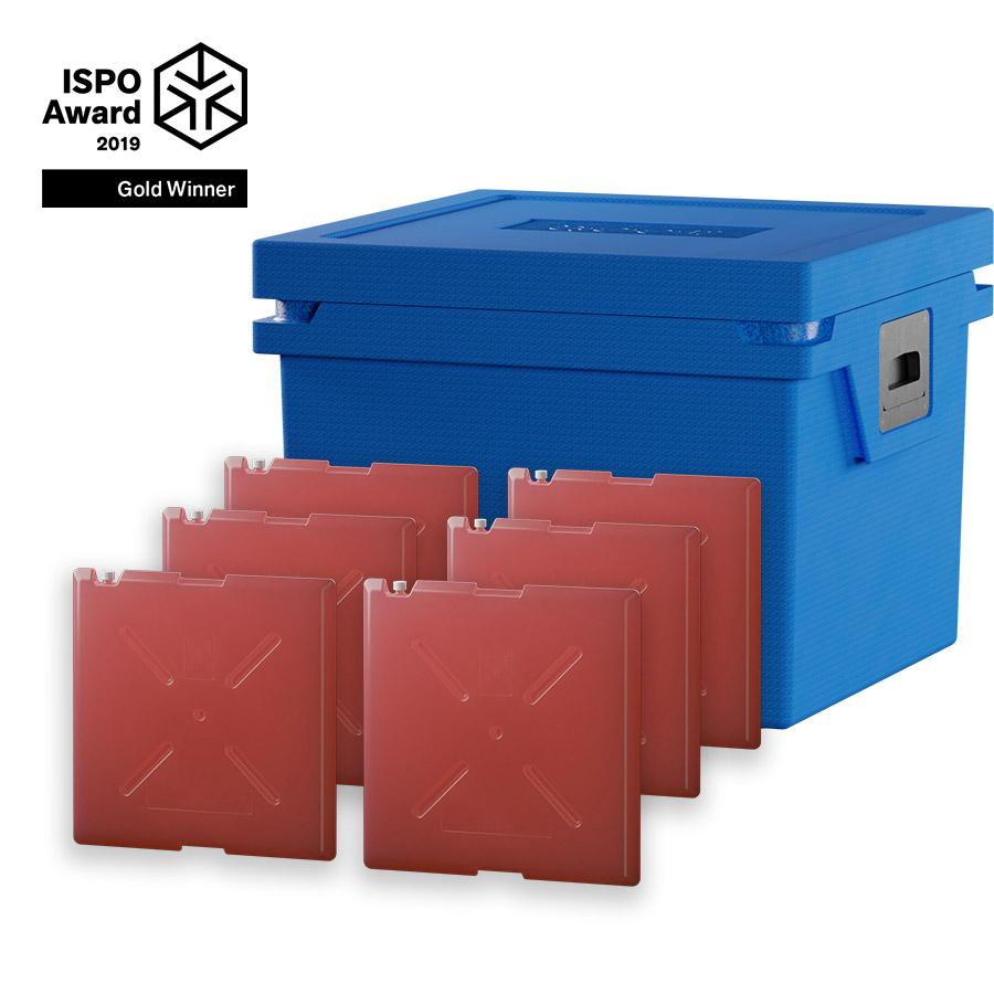 QOOL Box Standard Cool Box L Passiv Kühlbox Kühltruhe Kühlen -2° bis +2° Grad
