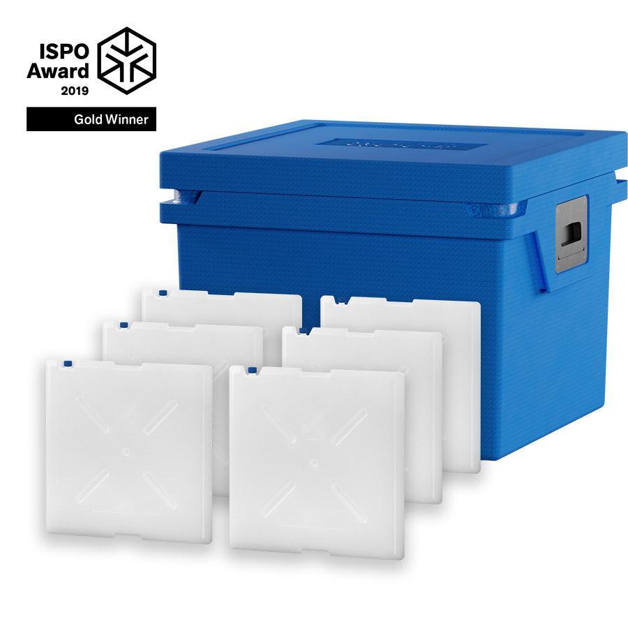 QOOL Box Standard Frozen L Passiv Kühlbox Kühltruhe Kühlen -20° bis -10° Grad