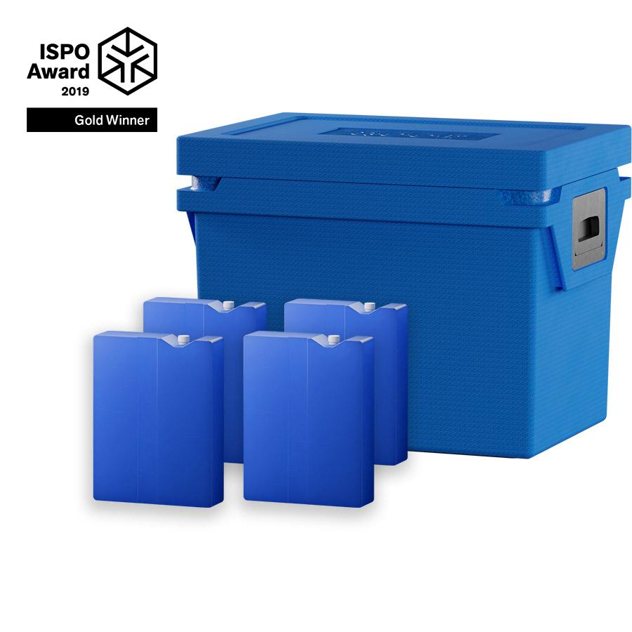 QOOL Box Controlled Fresh Box M Passiv Kühlbox Kühltruhe Kühlen +2° bis +8° Grad