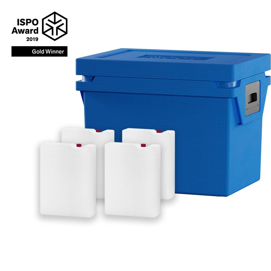 QOOL Box Deep Frozen Box M Passiv Kühlbox Kühltruhe Kühlen -25° bis -15° Grad