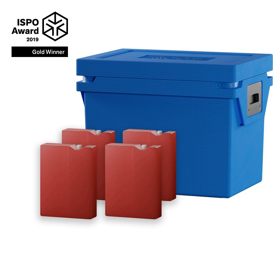 QOOL Box Standard Cool Box M Passiv Kühlbox Kühltruhe Kühlen -2° bis +2° Grad