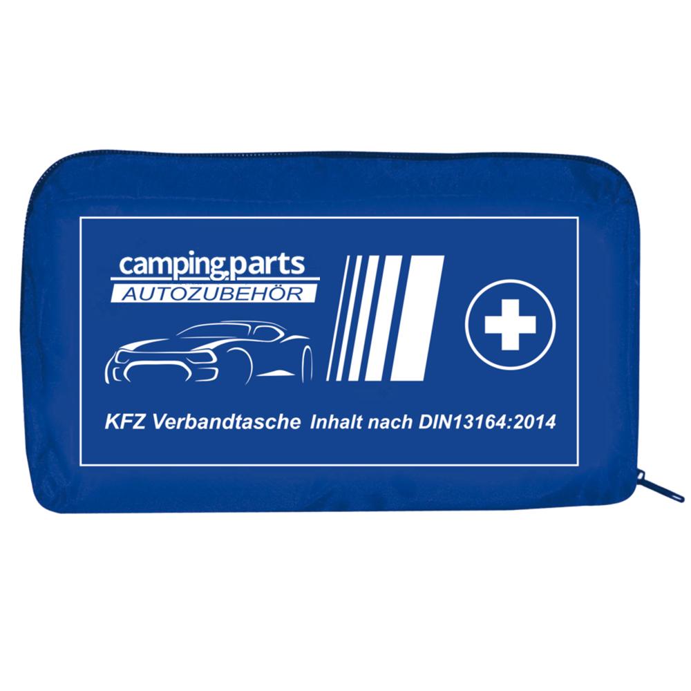 Auto Verbandskasten Verbandstasche KFZ Fahrzeug Verbandtasche DIN 13164 Blau