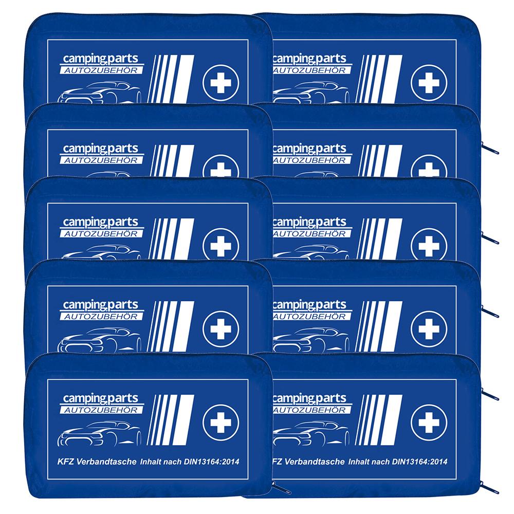 Auto Verbandskasten Verbandstasche KFZ Fahrzeug Verbandtasche DIN 13164 10x Blau