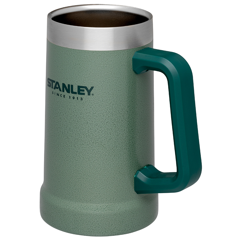 Stanley Classic Steel Stein Bierkrug Vakuum Edelstahl 709 ml 666800