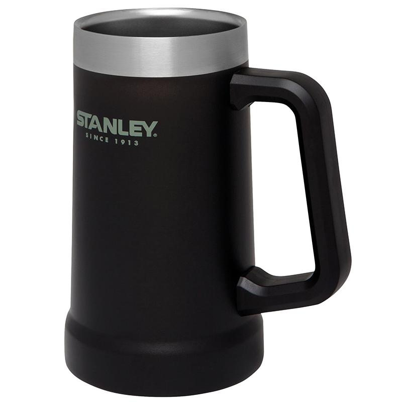 Stanley Classic Steel Stein Bierkrug Vakuum Edelstahl 709 ml 666900