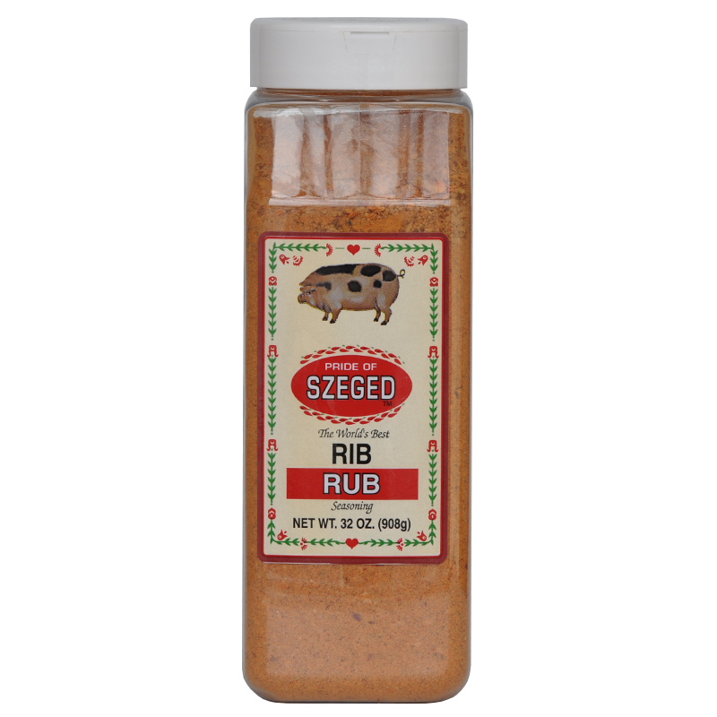 Gewürzmischung Rub BBQ Grill Smoker Gewürz Rippchen Rib Schwein Grillfleisch
