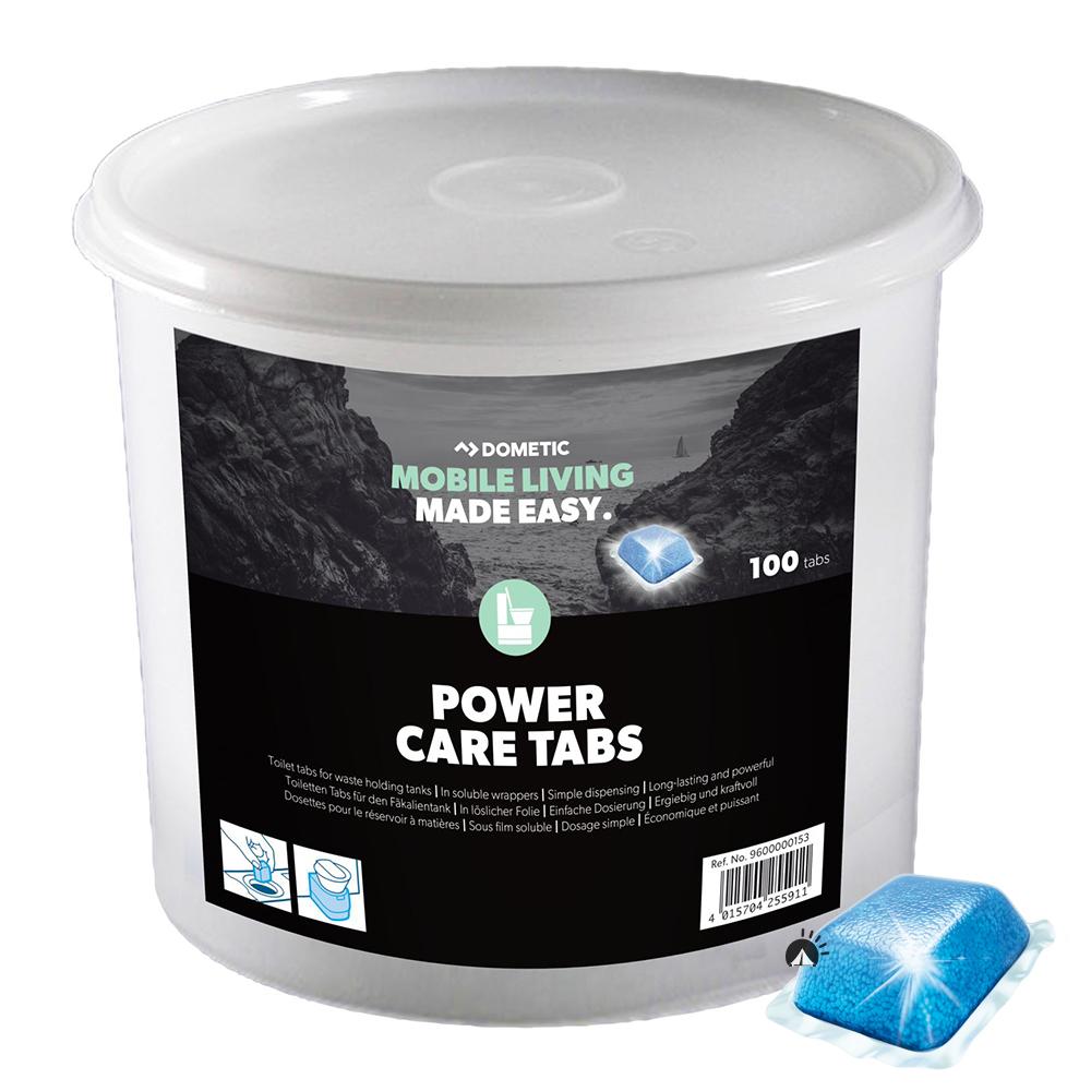 Dometic Power Care Tabs Eimer 100 Stück WC Zusatz PowerCare Thetford WC