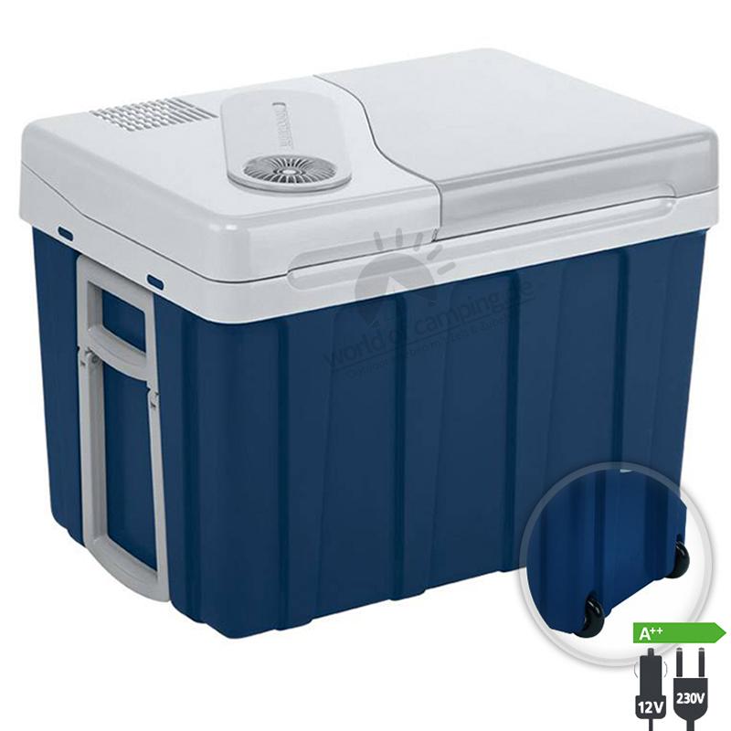 WAECO Mobicool W40 AC/DC Thermoelektrische Kühlbox 12/230 Volt 39 Liter + Griff