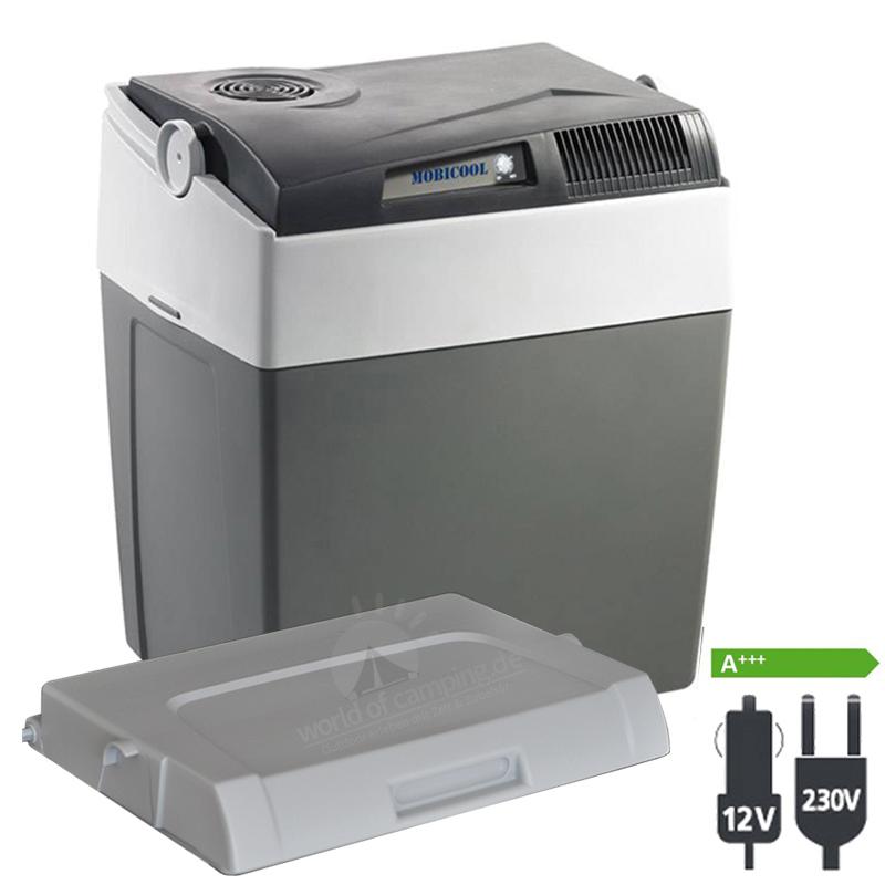 WAECO Mobicool K30 AC DC Thermoelektrische Kühlbox 12 | 230 Volt Passivdeckel